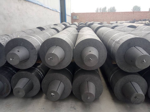 Production characteristics of graphite electrode